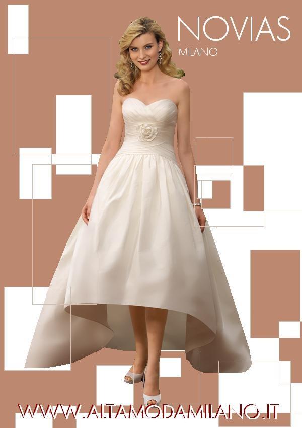 Amato Vestiti da sposa CORTI davanti e lunghi dietro NOVIAS 2012  CP34