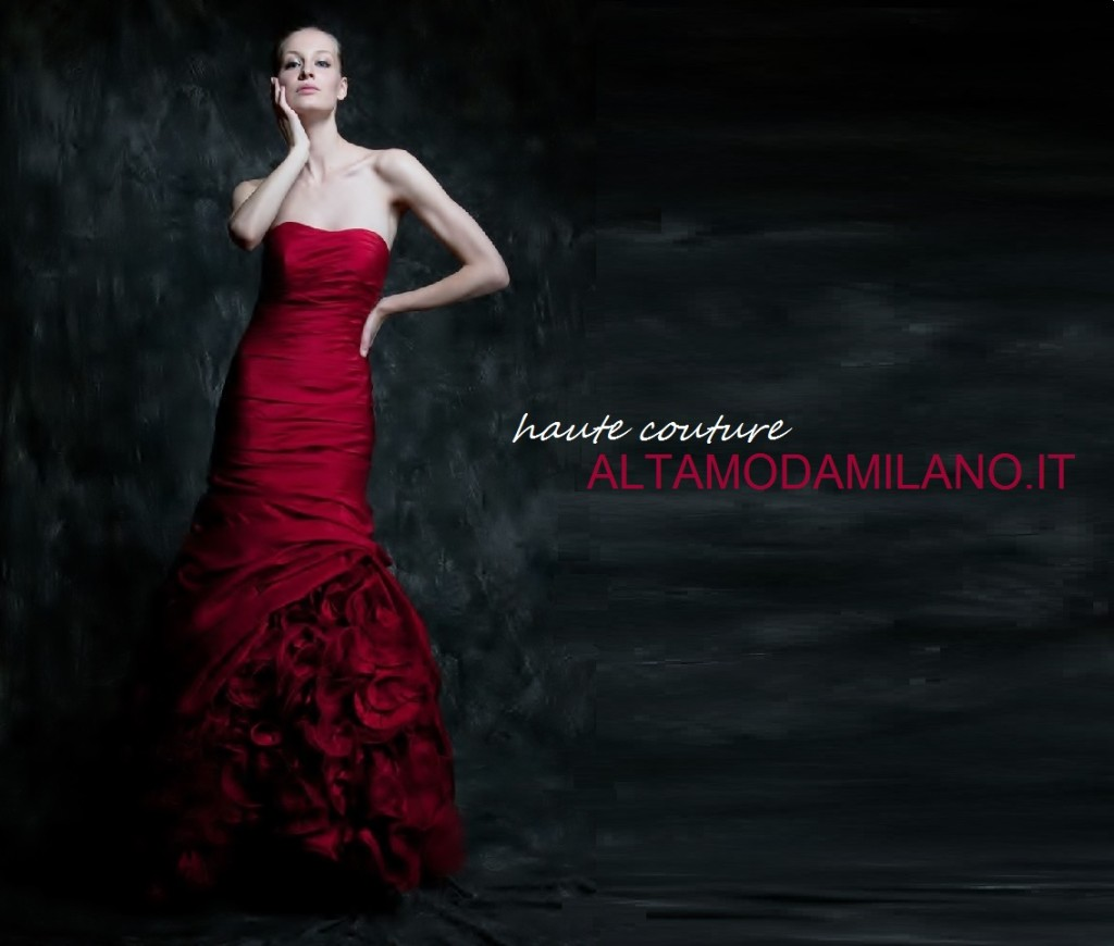 5678049490c3 Abiti sposa ROSSO Valentino per le spose 2013-2014 made in ...