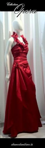 abiti sposa colorati rossi