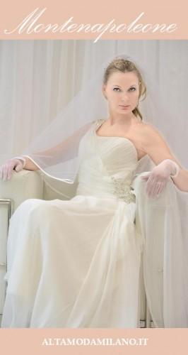 abiti sposa via montenapoleone milano