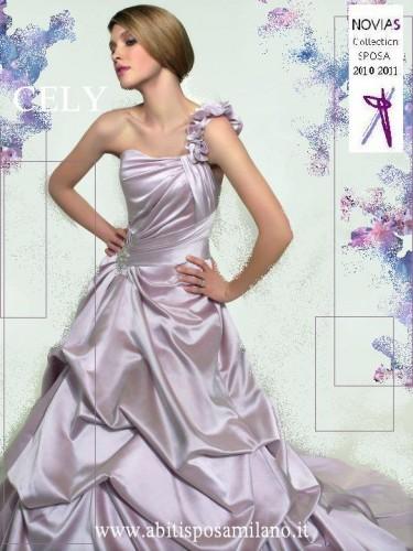 abito da sposa colorato milano NOVIAS lilla glicine.JPG