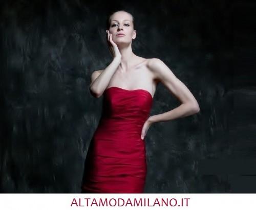 Vestiti rossi da sposa 2014 ALTAMODAMILANO.IT rosso Valentino passione e  stile 2a305e05388