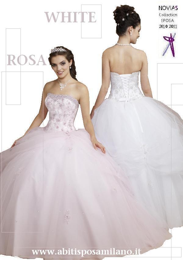 e6c004cd3e2b abito da sposa ROSA in tulle milano NOVIAS 2011.jpg. abiti sposa ROSA