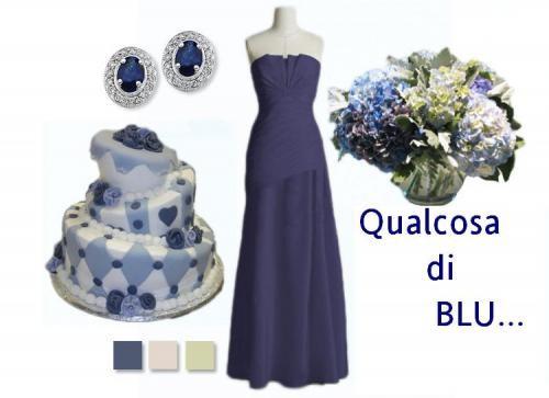 nozze in blu