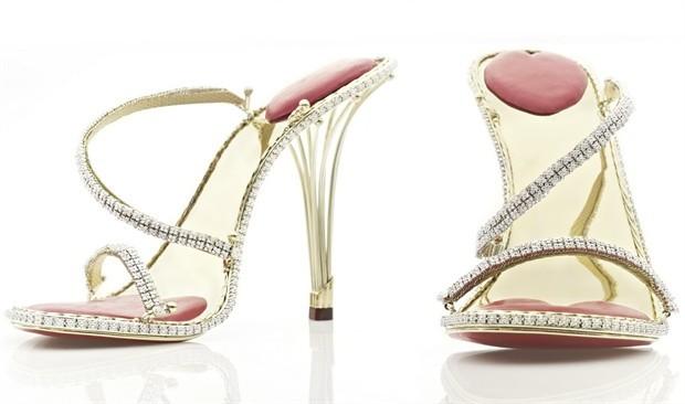 Mondo Oro 2 By Del Le Scarpe 200 E Massiccio Diamanti Più