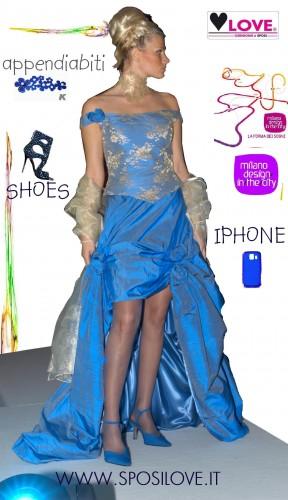 Love design l abito da sposa milano made in italy abiti for Love design milano