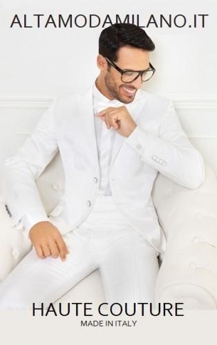 abiti sposo bianco