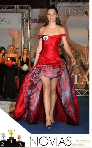 abito da cerimonia rosso