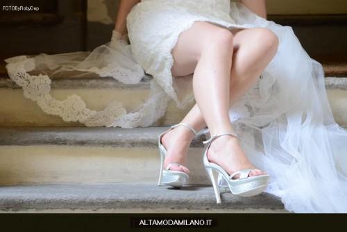 scarpe da sposa premaman