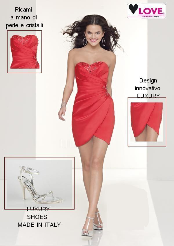 new arrival e4fc5 83ef1 Elegante semplicità gli abiti da cerimonia donna milano LOVE ...