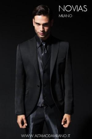 Total Black Uomo Matrimonio : Abito cerimonia uomo tait u modelli alla moda di abiti