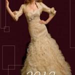 Abito da sposa 2012 collezione spose milano NOVIAS