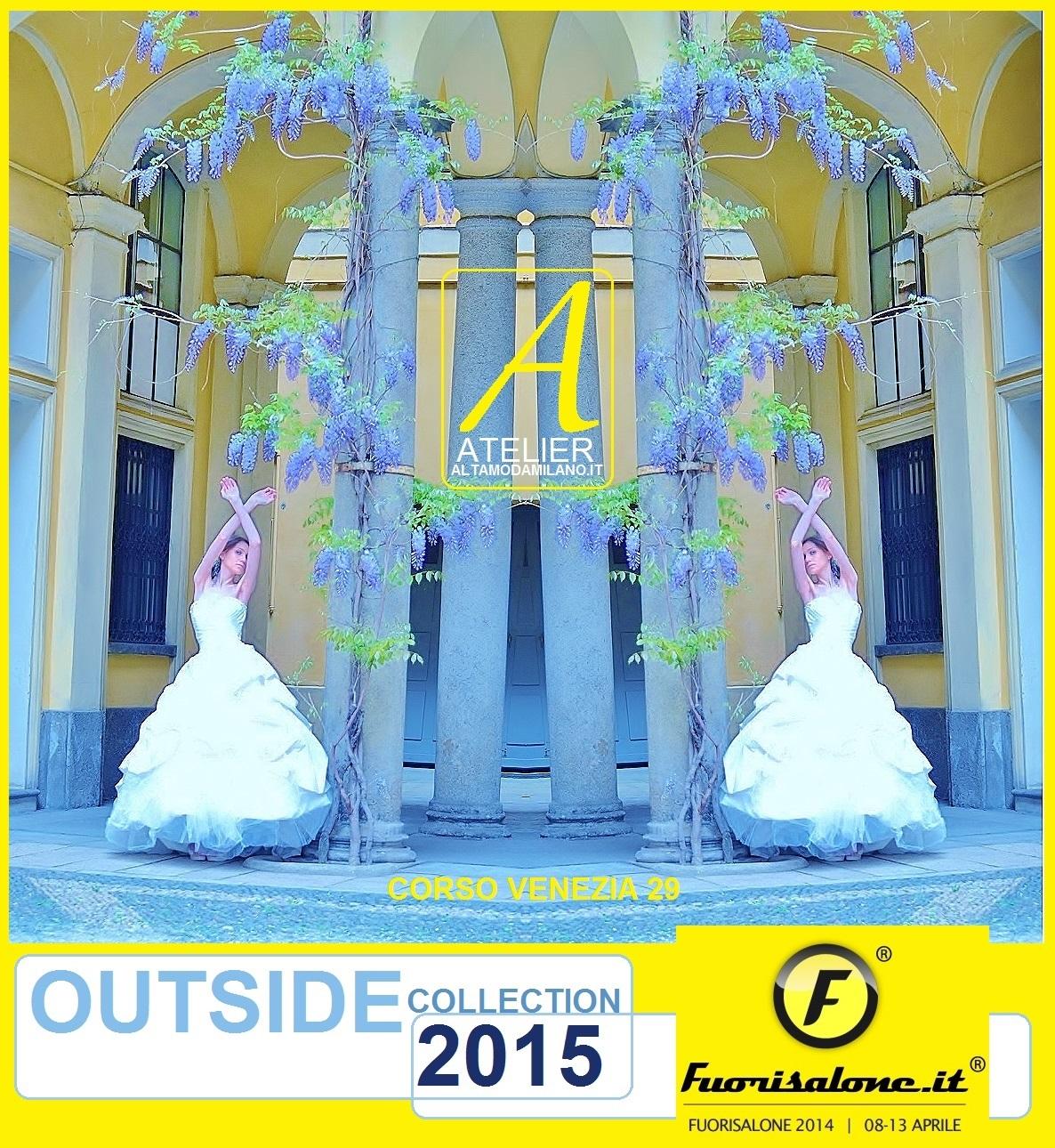 abiti da sposa 2015 FUORI SALONE MILANO
